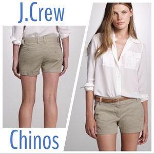 "J.Crew 3"" Chinos"